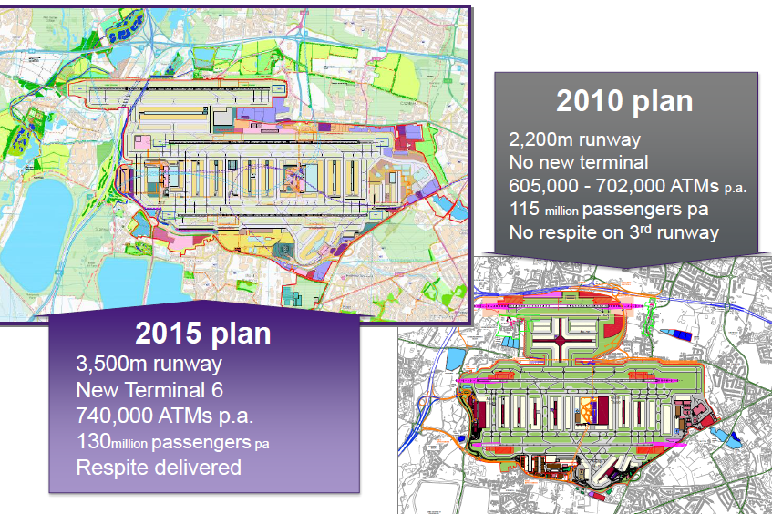 Heathrow debate slide 1